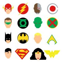 Justice League Icons by mattmagargee
