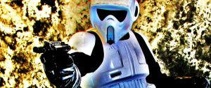 Star Wars Scout Trooper by DWMoran