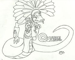 Quetzal, Eyes of Crimewerks by ConnerCoon