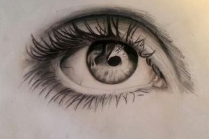 Quick eye drawing by PufferfishCat