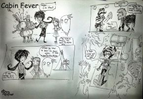 Cabin Fever day1 by RavenBlackCrow