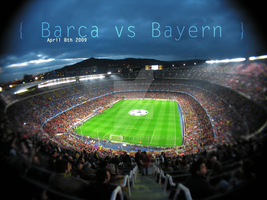 Camp Nou by swandiave