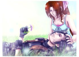 FF7CC: Together by DarkLitria