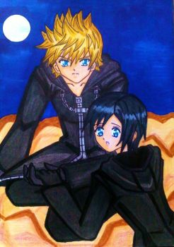 Roxas x Xion : Never give up! by dagga19