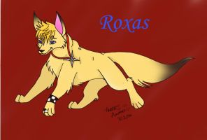 Roxas :.dog form.: KH2 by PinkScooby54