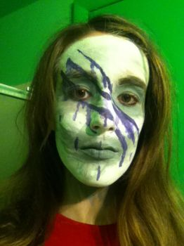 Gamzee makeup test~ by Clawscar