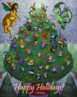 Holiday Tree + 2014 DLC Season's pass edition by the-b3ing