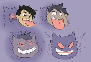 Gengar 2D: The Final Tongue by Fighting-Wolf-Fist