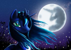A beautiful Night by Taliesin-the-dragoon