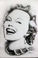 Marilyn Monroe by Mipo-Design