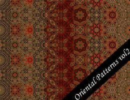Oriental Pattern Set Vol.2 by emmaalvarez