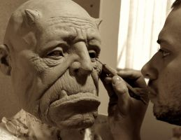 Ogre mask Finishing by glaucolonghi