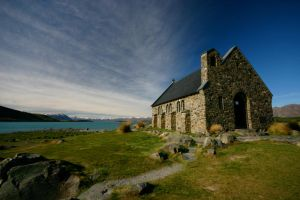 Church of the Good Shepherd NZ by Thrill-Seeker