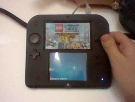 Playing a demo on the 2DS! by TateishiAyu