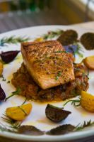 Salmon with Tomato Compote 2 by ThomasVo