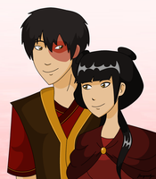 Zuko and Mai by Jackie-lyn