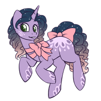 Evening Party Pony  Auction  (CLOSED) by Crystal-Comb