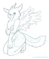 Snow-Griffin by Ponygir1