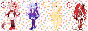 Cake Adoptables! [Closed] by Tron-Silver