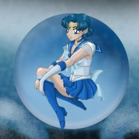 Sailormercury - Cell-Style by Jeishii