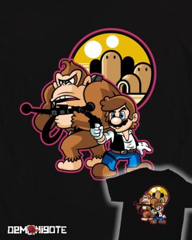 Mario Solo Tee Design by ReverendoGore