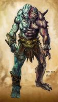 MotU Concept - Two Bad by NathanRosario