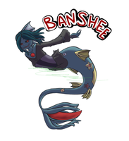 Banshee for Kimera by kitzune-griffith
