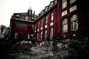 Psychiatric Hospital 1 by Yachman