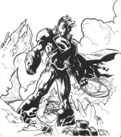 Superboy Prime by juanjosilva