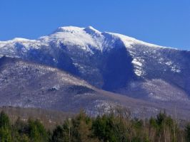 Mount Mansfield from Cambridge by jerrinator