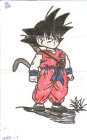 Kid Goku by FinalFantasywannabe