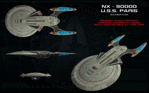 Excalibur Class ortho - USS Paris by unusualsuspex