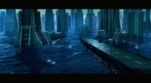 city in the sea test works by weiweihua