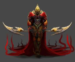 Blood knight by Pertheseus