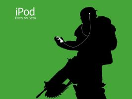 Gears of War Ipod by JPClose