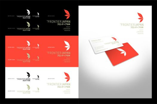 Frontier Japan logo I by arpad