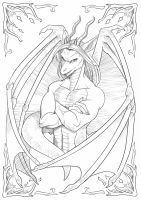 Dragon Male by playfurry