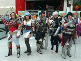 Dragon Age 2 group shot MCM May '12 by KaniKaniza