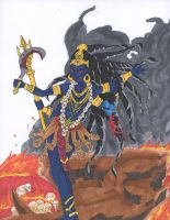 Kali the Destroyer by trecorder