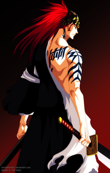 Bleach Cover 73 - Renji by AnimeFanNo1