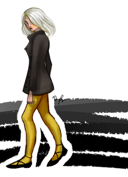 I Saw a Cool Lady Yesterday by racfr