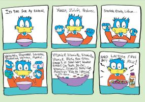 Cereal comic by Scurrow