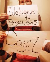 Project365: Day 1 by Nitersss