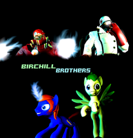 The Birchill Brothers(Wallpaper) by bioshocked1337