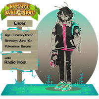Harvest Lunatone - 2nd Character - Ant boi by tritn