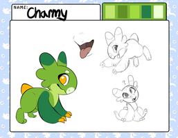 New Wyngling - Charmy by ThunderCritters