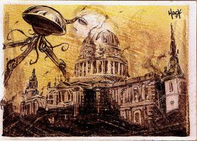 War of the Worlds: St. Paul's Cathedral, Razed by RobertHack