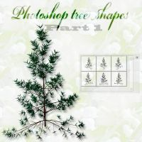 photoshop tree shapes part 1 by feniksas4