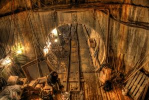Sewer construction 7 by Ssaash