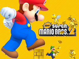 800x600 New Super Mario Bros. 2 Wallpaper by MaxiGamer